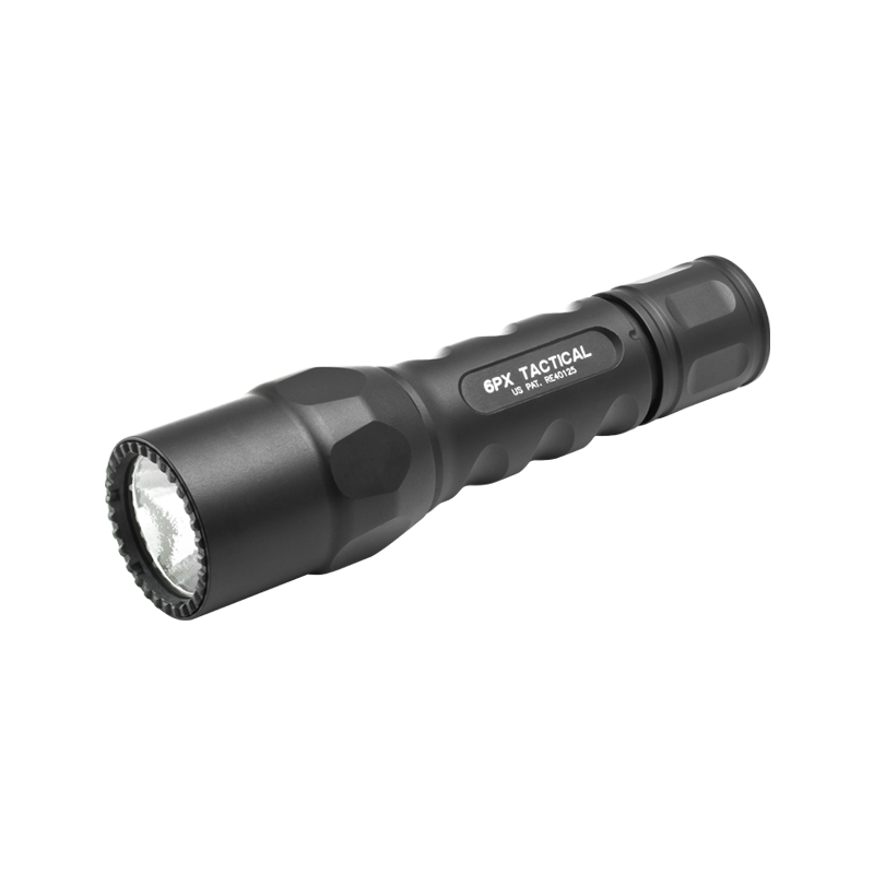 6PX Tactical LED Taschenlampe mit Gravur