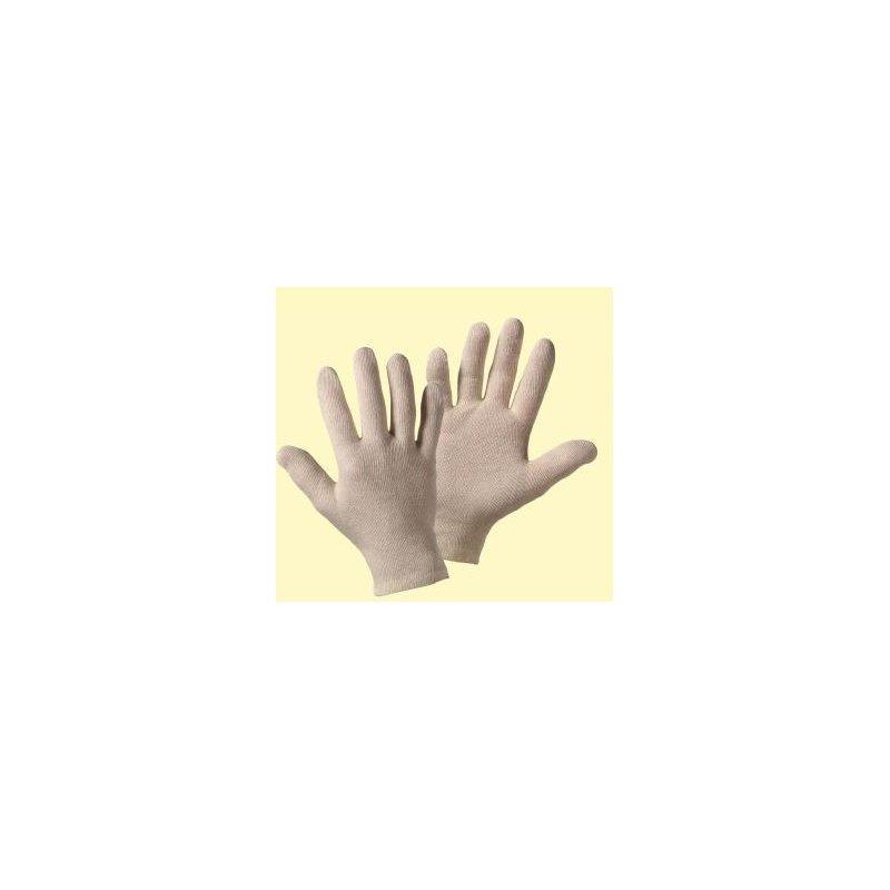 UPIXX Trikot Baumwoll- und Strickhandschuhe, rohweiß