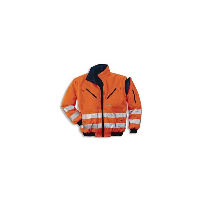 Warn-Wende-Pilotenjacke 8849/orange XXL