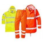 Warnschutz Regenkleidung