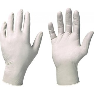 Stronghand Colombo Latex Einmal-Handschuhe puderfrei