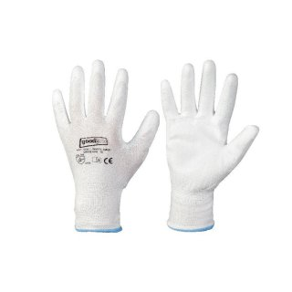 White Grip Goodjob Handschuhe