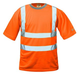 Safestyle Thomas Warnschutz-T-Shirt Orange