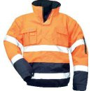 Safestyle Otto Warnschutzpilotenjacke Orange/Marine