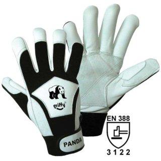Panda Feinmechanik-Nappaleder-Handschuh Montagehandschuh Leder Gr M-XXL 8-11
