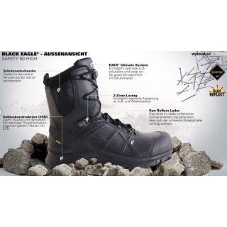HAIX Black Eagle Safety 53 mid Sicherheitsschuhe S3