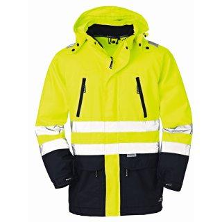 4 Protect OHIO 3371 Softshell Jacke schwarz rot   CAS Technik